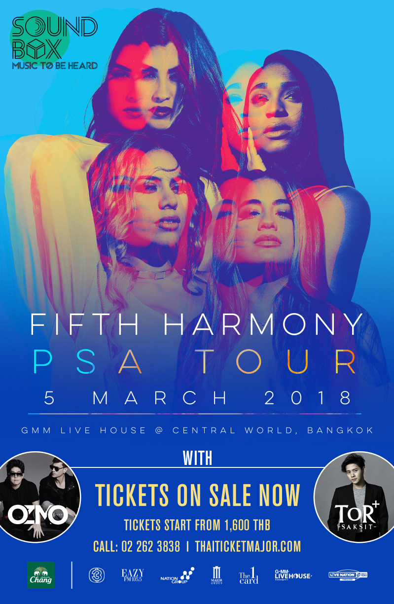 SOUNDBOX : FIFTH HARMONY PSA TOUR